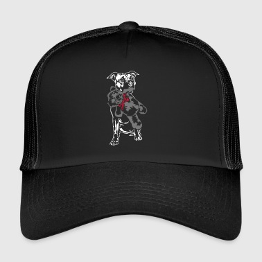 Staffordshire with Teddy - Trucker Cap