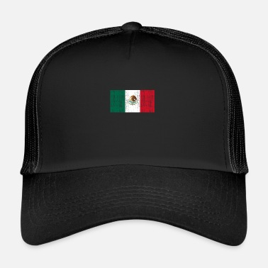 Mexico City Mexico city flagga - Trucker Cap