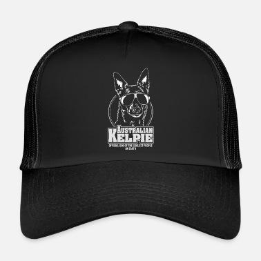 ee9df9d85484b AUSTRALIAN KELPIE coolest people Wilsign  39 s herding dog - Trucker Cap