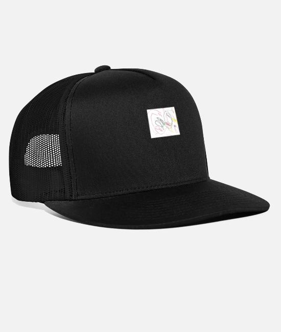 Naughty Caps & Hats - children - Trucker Cap black/black