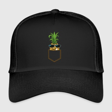 Fuck You PINEAPPLE FUCK YOU cool guy ananas zonnebril - Trucker Cap
