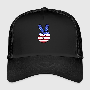 US Peace - Trucker Cap