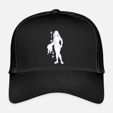 Topper pin-up girl met topper - Trucker Cap