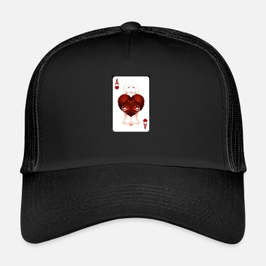 Tlc AS de coeur - Trucker Cap