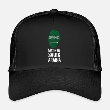 38ebe7def881df Saudi Arabia Made In Saudi Arabia / Saudi Arabia - Trucker Cap