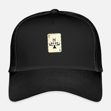 Ace Of Spades Ace of skulls - Trucker Cap