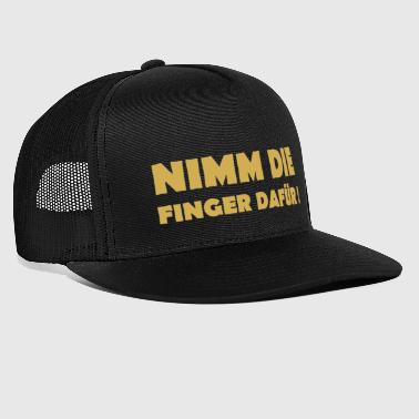 finger - Trucker Cap