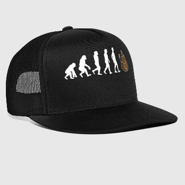Regalo Shirt cacca Evolution - Trucker Cap