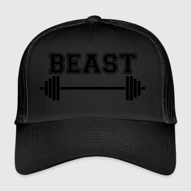 Beast. Dad Beast. Weightlifting Gifts. Keep Strong - Trucker Cap