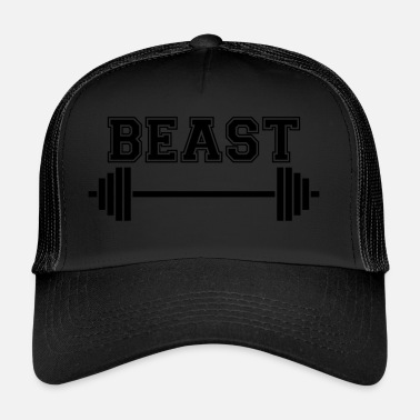 Weightlifting Beast. Dad Beast. Weightlifting Gifts. Keep Strong - Trucker Cap