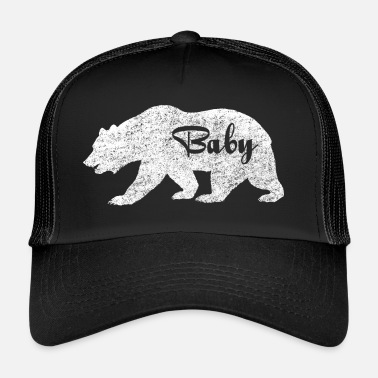 Girl Baby Bear.Gifts for Babies. Baby Camping.Pregnancy - Trucker Cap