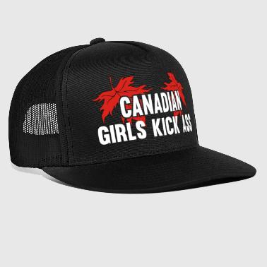Canadian girls Kick Ass - Trucker Cap