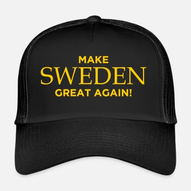 Make Sweden Great Again! - Truckerkeps