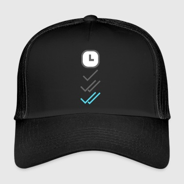Whats App Chat - Trucker Cap