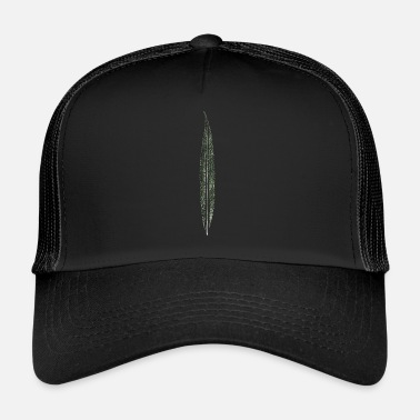 Leaf Willow leaf / leaf / nature - Trucker Cap