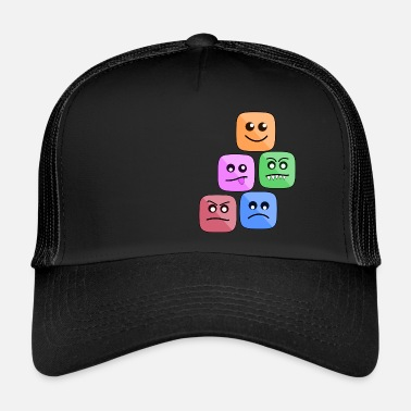 Emoticon EMOTICONS STEMMING - Trucker Cap