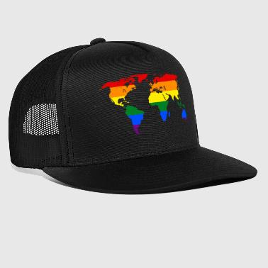 LGBT PRIDE All over the World - Trucker Cap