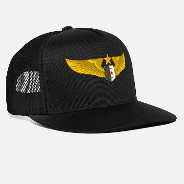 Algeria Algerian Air Force wings - Trucker Cap