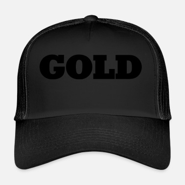 Gold Gold - Trucker Cap