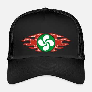 Basque cross flaming - Trucker Cap