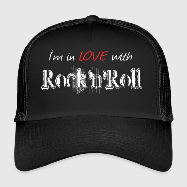 Rock N Roll Rock n Roll White - Trucker Cap