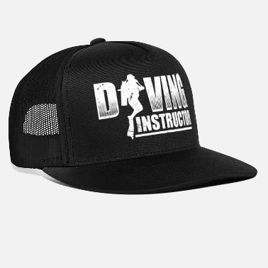 Diving Funny Diving Diver Dive Shirt Diving Instructor - Trucker Cap