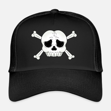 Ossa Incrociate teschio ossa incrociate - Trucker Cap