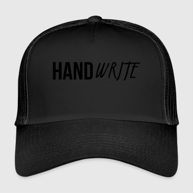 Handwrite design - Trucker Cap