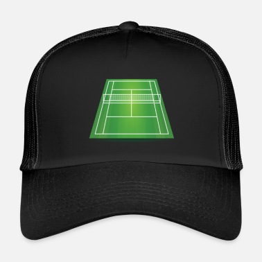Court tennis court - Trucker Cap