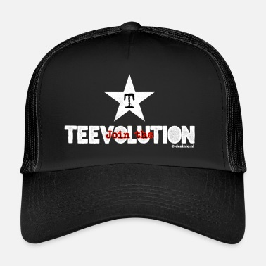 Originell Gå med i Teevolution! - Trucker Cap
