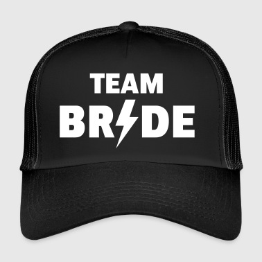 Team Bride Rocks (Hen Night / Bachelorette Party) - Trucker Cap