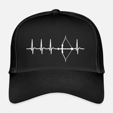 Archer Heartbeat Archer disant Funny Fun Fun - Trucker Cap