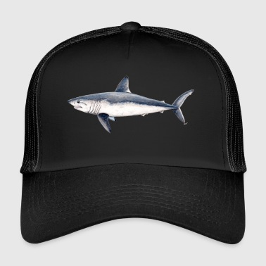 Requin-taupe - taupe commun Réquin shark- taupe - Trucker Cap