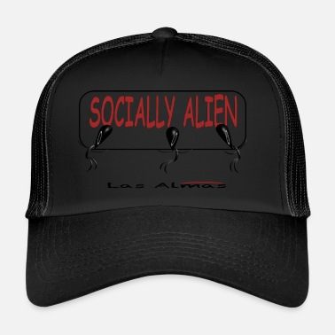 Las Vegas SOCIALLY ALIEN - Trucker Cap