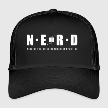 NERD WHITE - Trucker Cap