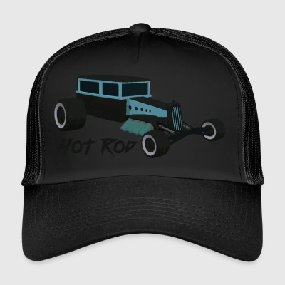 Hot Rod elsker v1 - Trucker Cap