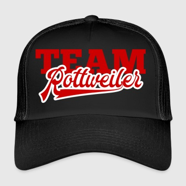 Dog / Rottweiler: Team Rottweiler - Trucker Cap
