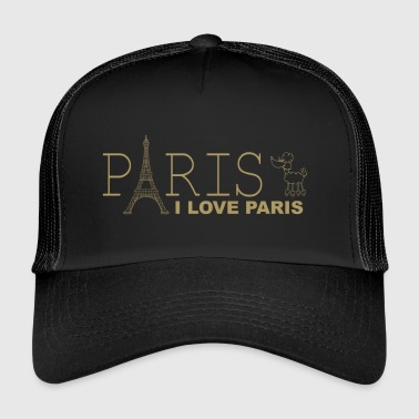 I Love Paris - Trucker Cap
