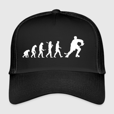 Evolutie hockey! IJshockey! ijshockey - Trucker Cap