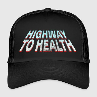 Highway to Health - Trucker Cap