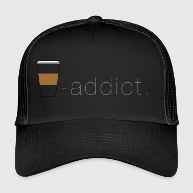 coffee - verslaafde - Trucker Cap