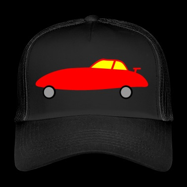 Racing Car Racing Car Racing Car Children Kids Children - Trucker Cap
