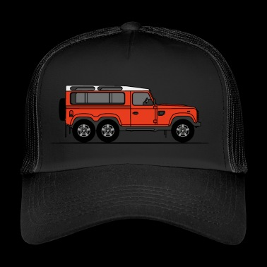 Defender 6x6 - Trucker Cap