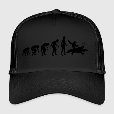 Greyfish Cowboy - The Cancer Rider - Trucker Cap