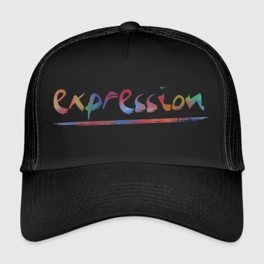 Expression typography - Trucker Cap