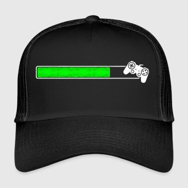 Loading Game Loading bar loading upload Install - Trucker Cap