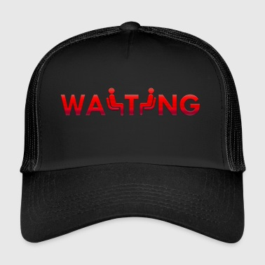 En attente de rouge - Trucker Cap