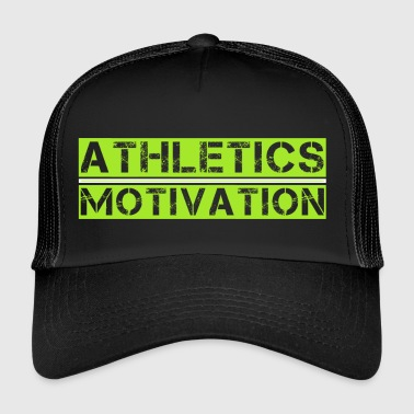 Friidrott motivation utan Tribal1 - Trucker Cap