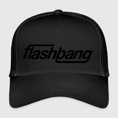 Flash Bang simple - 50kr don - Trucker Cap