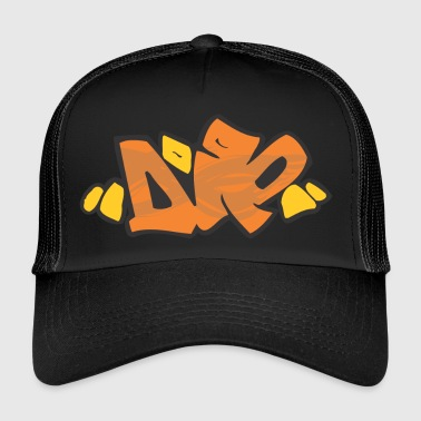 die graffiti - Trucker Cap